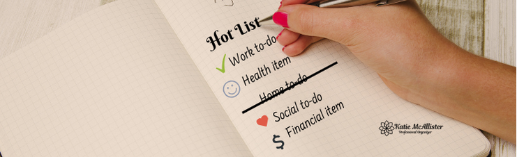 Hot List To-Do List Check them off