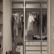 Closets and Living Spaces