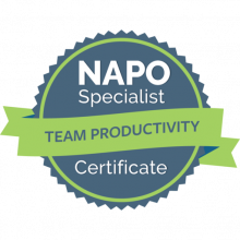 NAPO Specialist Certificate – Team Productivity
